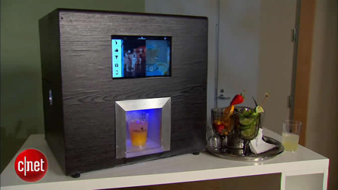 Monsieur Robotic Bartender understands your problems, fixes drinks accordingly
