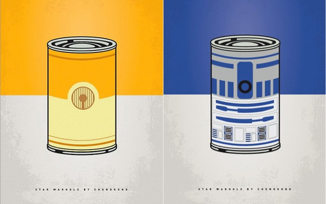 Star Warhols Series bring the Force to the soup
