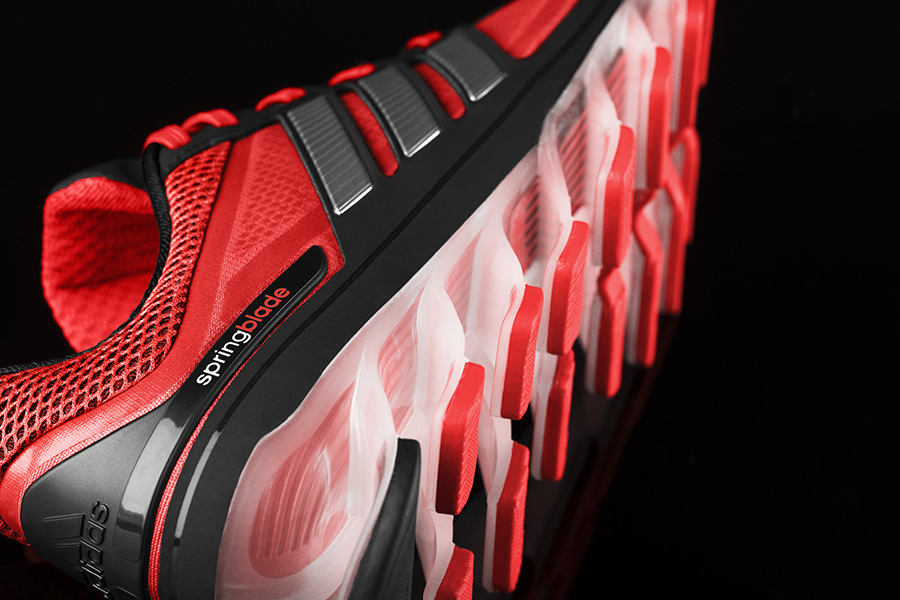 Adidas unveils the Springblade Razor running shoes with blade technology