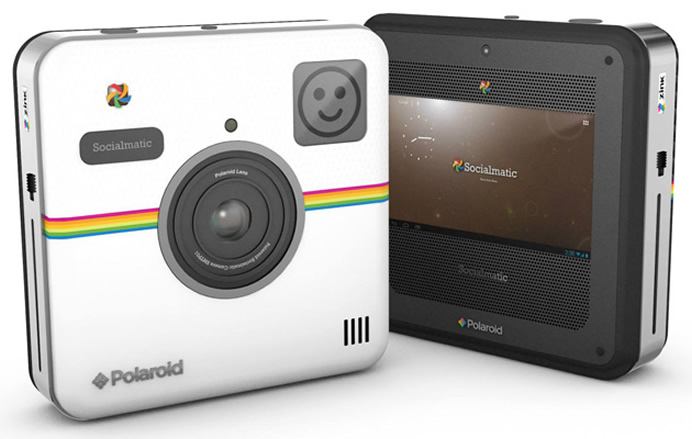 CES 2014: Polaroid Socialmatic Camera blends instant prints on an Android platform