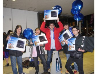 Japanese student waits for two nights in the winter cold to own Sony PS4 in Japan