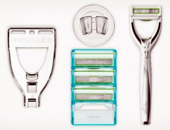 Hyperglide Razors reduce cuts with self-lubricating cartridges