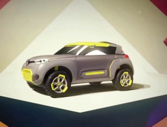 Renault KWID Concept is an off-road vehicle with its own built in flying companion quadcopter