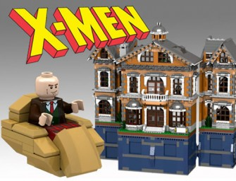 Super Bricker builds X-Men institute with Lego