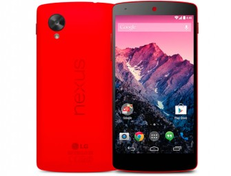 Nexus 5 draped in Red appears before 14th February