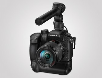 Panasonic announces Lumix DMC-GH4, world's first DSLM camera with 4K video recording