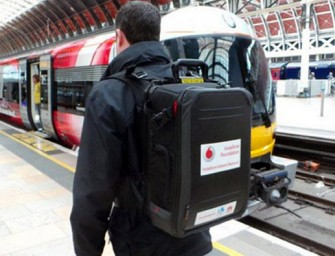 Vodafone creates 24-pound emergency mobile network backpack