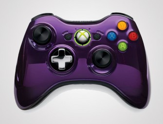 Chrome Series Xbox 360 wireless controllers on the way