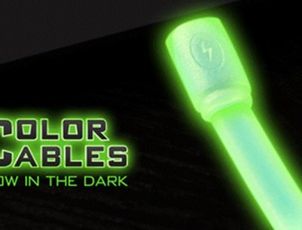 Color Cables seek crowdfunding for glow-in-the-dark Apple data sync cables