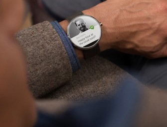 Motorola announces the Android Wear powered Moto 360 smartwatch