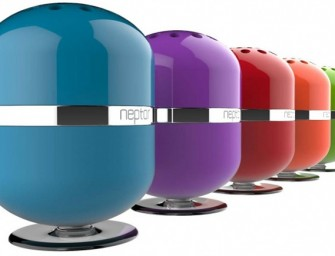 Neptor unveils its first Interactive Touch Play technology-enabled Bluetooth speaker, the NPSP01