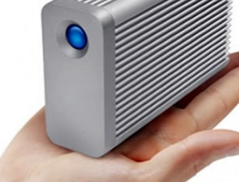 World's fastest portable storage device by Lacie delivers speeds of 1,375MB/s