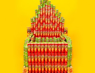 """Pringles can be deliciously musical too!"" proves this one-of-a-kind pipe organ"