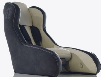 Volvo develops inflatable, portable and incredibly safe car seats for kids