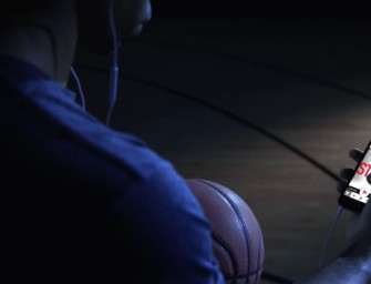 Wilson unveils smartphone-application-enabled smart basketball