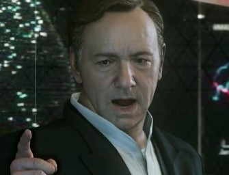 Kevin Spacey makes the new Call of Duty trailer cool and snazzy