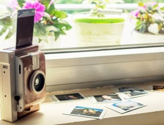 Lomography introduces a retro instant-photography camera called the Lomo Instant