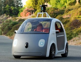 Google unveils an autonomous car prototype with breakneck speeds of 25 miles per hour