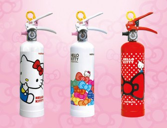 Hello Kitty fire extinguisher – Nuff said