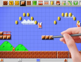 Mario Maker allows gamers to create their own Super Mario Bros levels!