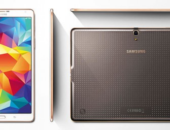 Samsung unveils two ultra-thin ultra-clear tablets, the Galaxy Tab S 10.5 and Galaxy Tab S 8.4