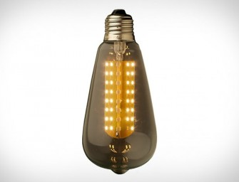 LEDs are here to stay! Say hello to the aesthetically escalated Edison Light Globes