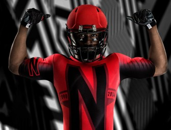 Adidas and the University of Nebraska unveil a new red uniform for the Huskers