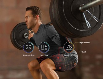 Next Gen Wearable Workout Gear by Athos to get optimum results from a workout session