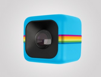The tiny and rugged Polaroid Cube records videos at 1080p!