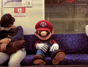 Mario enters the real world in Dean Wright's latest minute-long video