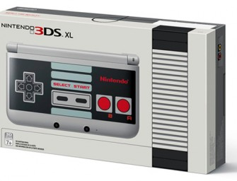 Nintendo gives you a dose of nostalgia with the 3DS XL NES Edition