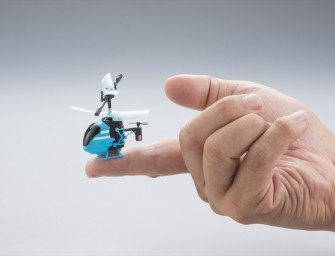 Pico-Falcon the worlds smallest remote controlled helicopter that fits on the tip of your finger