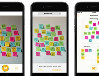 Post-it Plus App helps you digitize your Post-it notes on Apple Device