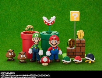 Worlds first Mario and Luigi action figures are here