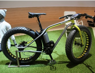 Sony showcases their future tech bike protoype Xperia Bike at the IFA