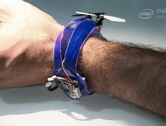 Take a Selfie with a Drone on your Wrist
