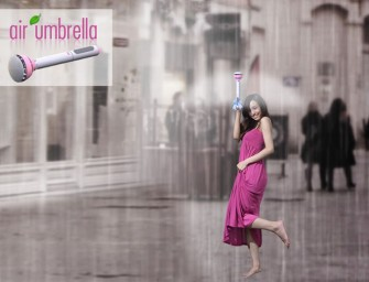 First cloth-less Air Umbrella keeps you dry with a force field, bids adieu to drying woes