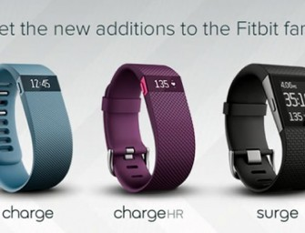 Fitbit announces three new activity trackers, Surge – a smartwatch and two smartbands
