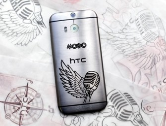 HTC One (M8) tattooed limited edition handsets ready for MOBO Awards