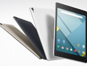 Nexus 9 comes marching in with 8.9-inch screen, Android 5.0