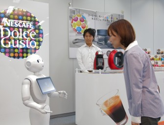 "Robot ""Pepper"" by SoftBank will sell Nescafé Machines in Japan"