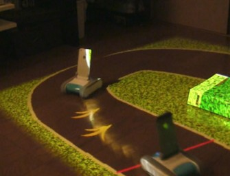 RomoCart transforms your living room into a Racetrack