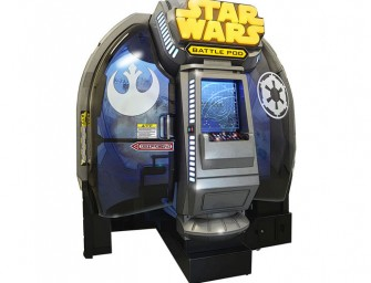 Star Wars Battle Pod arcade game relives top fight scenes from the original trilogy