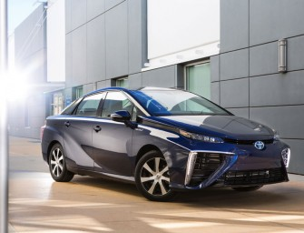 Toyota's fuel cell car Mirai will sell in Northeastern US and California in 2016