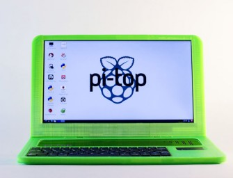 Pi-Top is the 3D printed Raspberry powered laptop which helps you can make your own laptop
