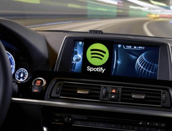 Spotify comes to BMW ConnectedDrive's iOS users