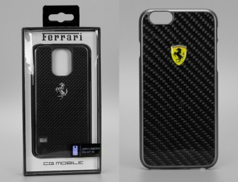 Ferrari launches cases for iPhone 6 and Samsung S5