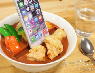 Smartphone stands that tickle your 'Sushi' senses arrive