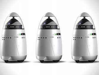 K5 Security Guard Robot by Knightscope has arrived in Silicon Valley