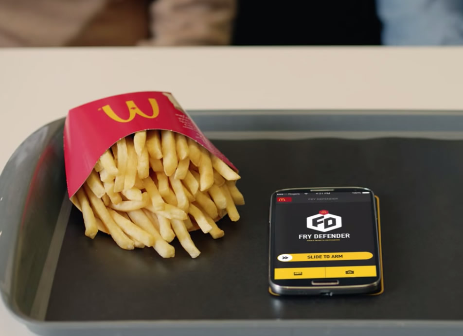 McDonald's Fry Defender app will protect your fries from theft